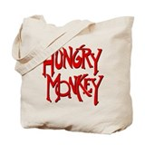 Hungry Monkey Tote Bag