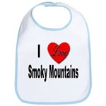 I Love Smoky Mountains Bib