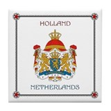 Tile Coaster - NETHERLANDS (Holland)