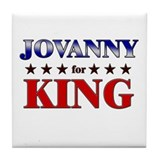 JOVANNY for king Tile Coaster