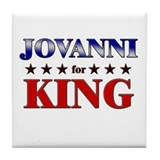 JOVANNI for king Tile Coaster