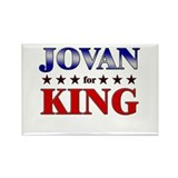 JOVAN for king Rectangle Magnet