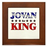 JOVAN for king Framed Tile