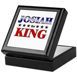 JOSIAH for king Keepsake Box