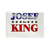 JOSEF for king Rectangle Magnet (10 pack)