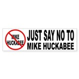 Anti Mike Huckabee Bumper Bumper Sticker