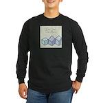 Own Your Own Blocks Long Sleeve Dark T-Shirt