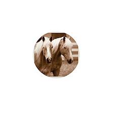 Haflinger Horse Mini Button (10 pack)