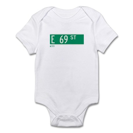 69th Street in NY Infant Bodysuit