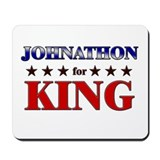 JOHNATHON for king Mousepad