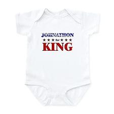 JOHNATHON for king Infant Bodysuit