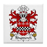 Rhydderch (LE GROS) Tile Coaster