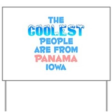 Coolest: Panama, IA Yard Sign