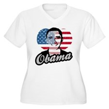 Barack Obama American Heart T-Shirt