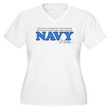 My Duty: Navy Mom T-Shirt