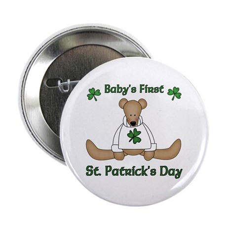 "Baby's First St. Patrick's day 2.25"" Button"