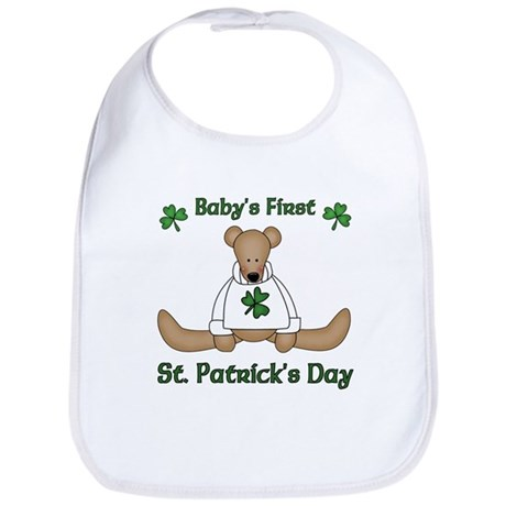 Baby's First St. Patrick's day Bib