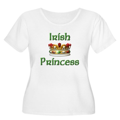 Irish Princess Women's Plus Size Scoop Neck T-Shir
