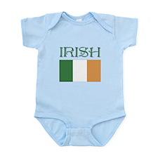 irish Flag St. Patty's Day Infant Bodysuit