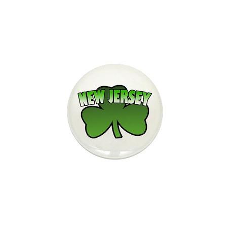 New Jersey Shamrock Mini Button (10 pack)