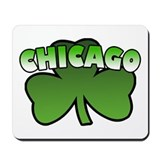 Chicago Shamrock Mousepad