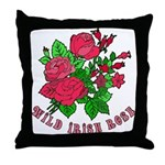 Wild Irish Rose Throw Pillow