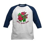 Wild Irish Rose Kids Baseball Jersey