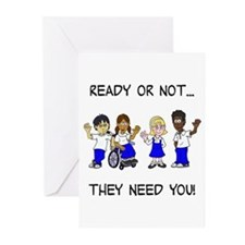 Cute Adoptive parents Greeting Cards (Pk of 10)