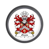 Owen (of Caernarfonshire) Wall Clock