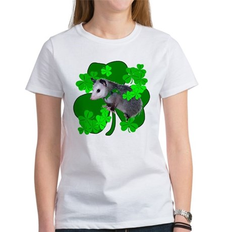 Lucky Irish Possum Women's T-Shirt