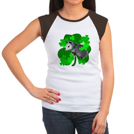 Lucky Irish Possum Women's Cap Sleeve T-Shirt