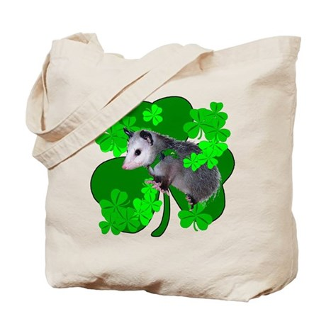 Lucky Irish Possum Tote Bag