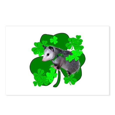 Lucky Irish Possum Postcards (Package of 8)