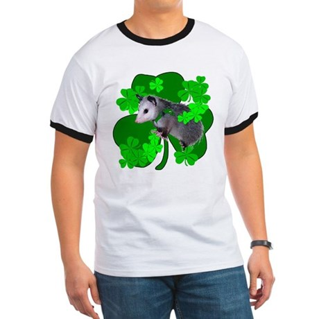 Lucky Irish Possum Ringer T