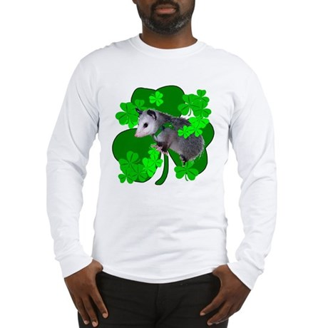 Lucky Irish Possum Long Sleeve T-Shirt
