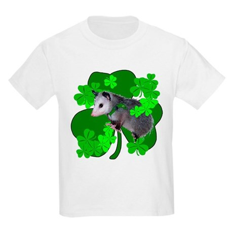 Lucky Irish Possum Kids Light T-Shirt