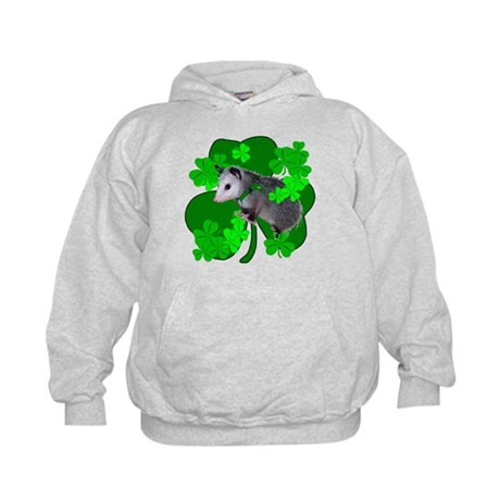 Lucky Irish Possum Kids Hoodie
