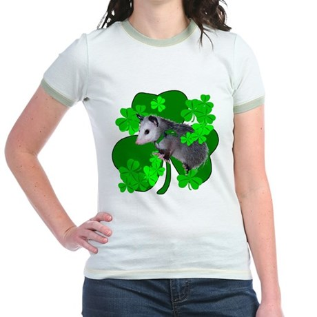 Lucky Irish Possum Jr. Ringer T-Shirt