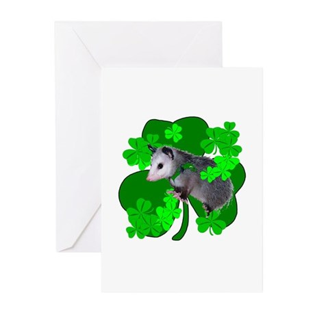 Lucky Irish Possum Greeting Cards (Pk of 10)