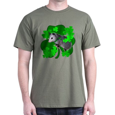 Lucky Irish Possum Dark T-Shirt