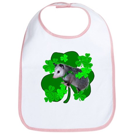 Lucky Irish Possum Bib