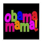 Obama Mama Tile Coaster