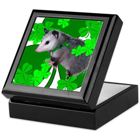 Lucky Irish Possum Keepsake Box
