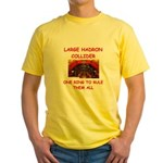 large hadron collider gifts Yellow T-Shirt
