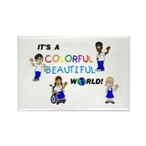 Cute Foster family Rectangle Magnet