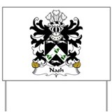 Nash (of Nash, Pembrokeshire) Yard Sign