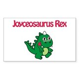 Joyceosaurus Rex Rectangle Decal