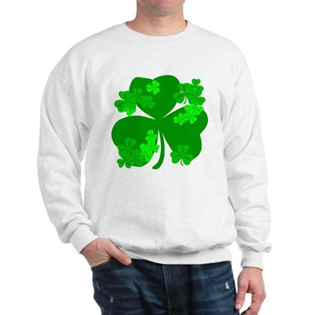 Lucky Irish Shamrocks Sweatshirt