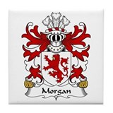 Morgan (Sir, AP MAREDUDD) Tile Coaster