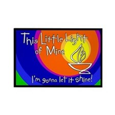 """This Little Light of Mine"" Magnet - 2x3"